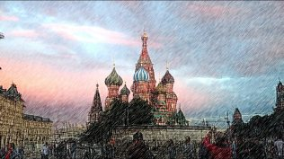 Moscow painting